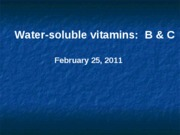 WaterSolubleVitamins-2011