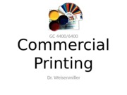 What is Commercial Printing (5)