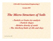 G1-Lecture10-The-MicroStructure-of-Soils