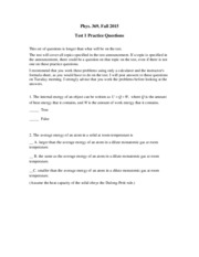 Phys 369 2015 test 1 practice questions