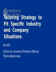 Lecture 10-- Strategy part 3