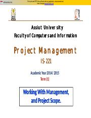 (3) Working with Management & project Scope.pdf