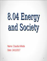 Energy and Society.ppt