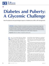AJN 114-7 CE Diabetes and puberty