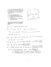Capacitor and Circuits Solutions
