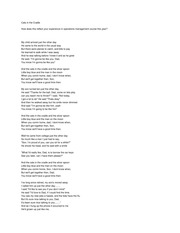 Cats in the Cradle lyrics