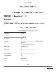 ielts listening test 4 - youtube com/IeltsFull PRACTICE TEST 4