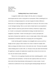 Essay Questions On Macbeth  Pages Midterm Essay Essay On Qualities Of A Good Friend also Essay About Marijuana Sociology Of Sexuality Essay  Essentialism And Social Construction  No Pain No Gain Essay