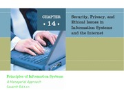ch14 Security, Privacy and Ethical Issues