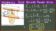 06Magnetic force between parallel wires
