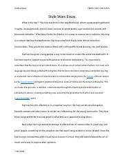 Style Wars Essay.docx