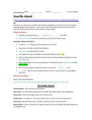 Snurfle Island worksheet.docx - Snurfle Island https\/www ...
