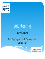 Volunteering presentation (2)