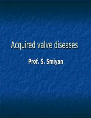 08. Acquired valve diseases.ppt