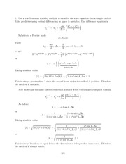 Differential Equations Lecture Work Solutions 321