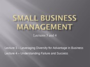 Small+Business+Management+slides+(lecture+3+and+4)