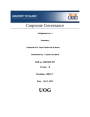 corporate gov chapter 2 summary.docx