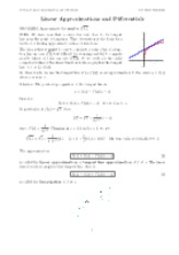 Linear_Approximations_and_Differentials notes