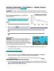 Wk 4 Coral Reefs 2 - Biotic Factors Student Exploration ...