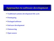 Managing software development notes