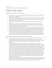 Chapter 14 outline