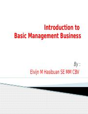 1a.Introduction to Mgt_Business #1