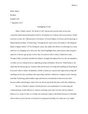 write a rhetorical question about the importance of personal  4 pages english 1101 essay 1 docx