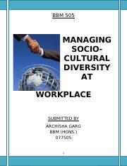 MANAGING CULTURAL DIVERSITY AT WORK PLACE.pdf