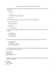 Multiple Choice Questions from Sections 3 and 4.docx