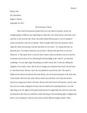 the kite runner theme paragraph borjon borjon noe mrs 3 pages the kite runner final essay