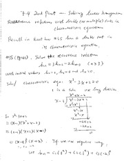 Math 325 Chapter 7.4-2nd part