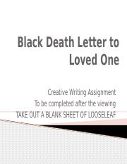 Black Death Letter with video.pptx