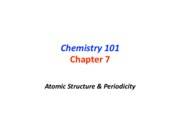 SABIC CHEM 101 Chapter 7 - Part 1