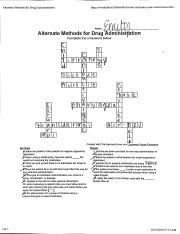 Alternate methods for drug administration