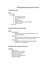 Class Notes for CSC290 - Business Communication Chapter 14
