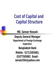 Cost of Capital and Capital Structure(1).ppt