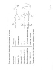 Differential circuits