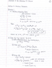 Midterm1ReviewSolutions