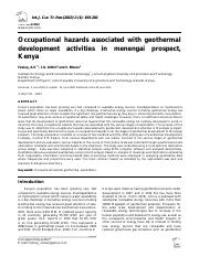 Occupational hazards associated with geothermal.pdf
