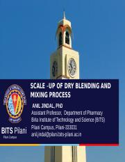 LECTURE_4_DRY BLENDING AND MIXING PROCESS.ppt