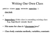 8 WritingClasses