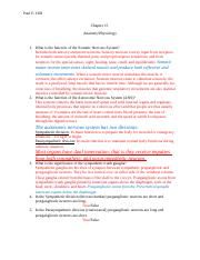 Chapter 15 Questions Anatomy Physiology.docx