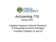 Accounting 770 Spring 2015 Crumbley Chapters 11 and 12.pptx
