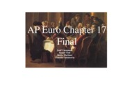 1 ap euro final project