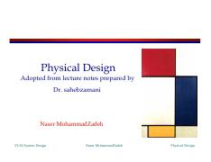 Lecture 11 -- Physical Design.pdf