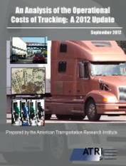 ATRI Operational Costs of Trucking 2012