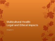 Chapter 5 Legal and Ethical Impacts