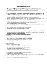 suggested solutions for lecture 4 exercises Solutions exercises lecture 4 - download as pdf file (pdf), text file (txt) or read online.