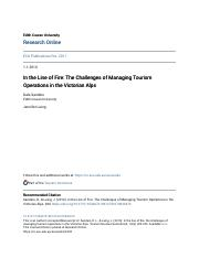 In the Line of Fire- The Challenges of Managing Tourism Operation.pdf