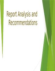 Report Analysis and Recommendations.pptx